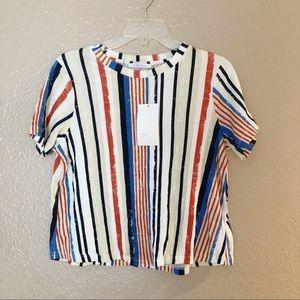 ZARA   Striped Vintage Shirt
